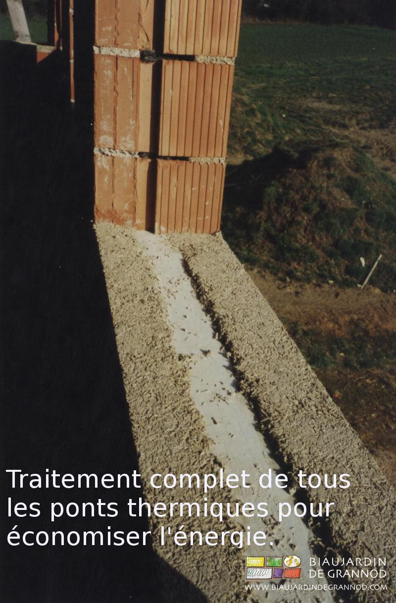 traitement systématique des ponts thermiques