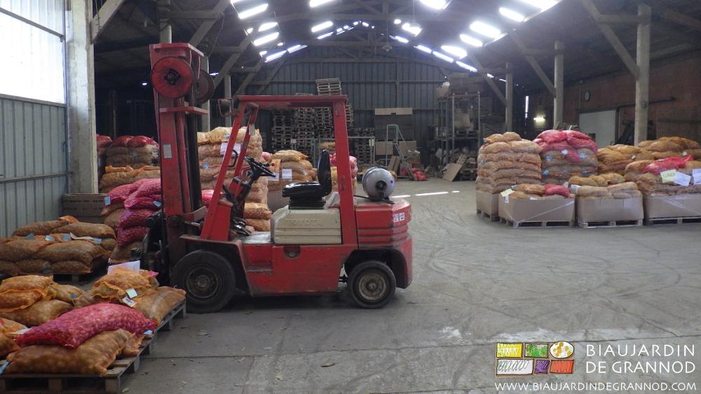 Payzons ferme, association de producteurs de plant bio de pomme de terre et d'échalote