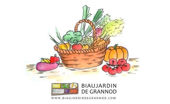 Depuis 1999, les paniers du Biau Jardin de Grannod