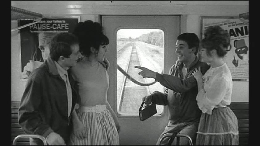 Bébert et l'omnibus. drague. Yves Robert 1963
