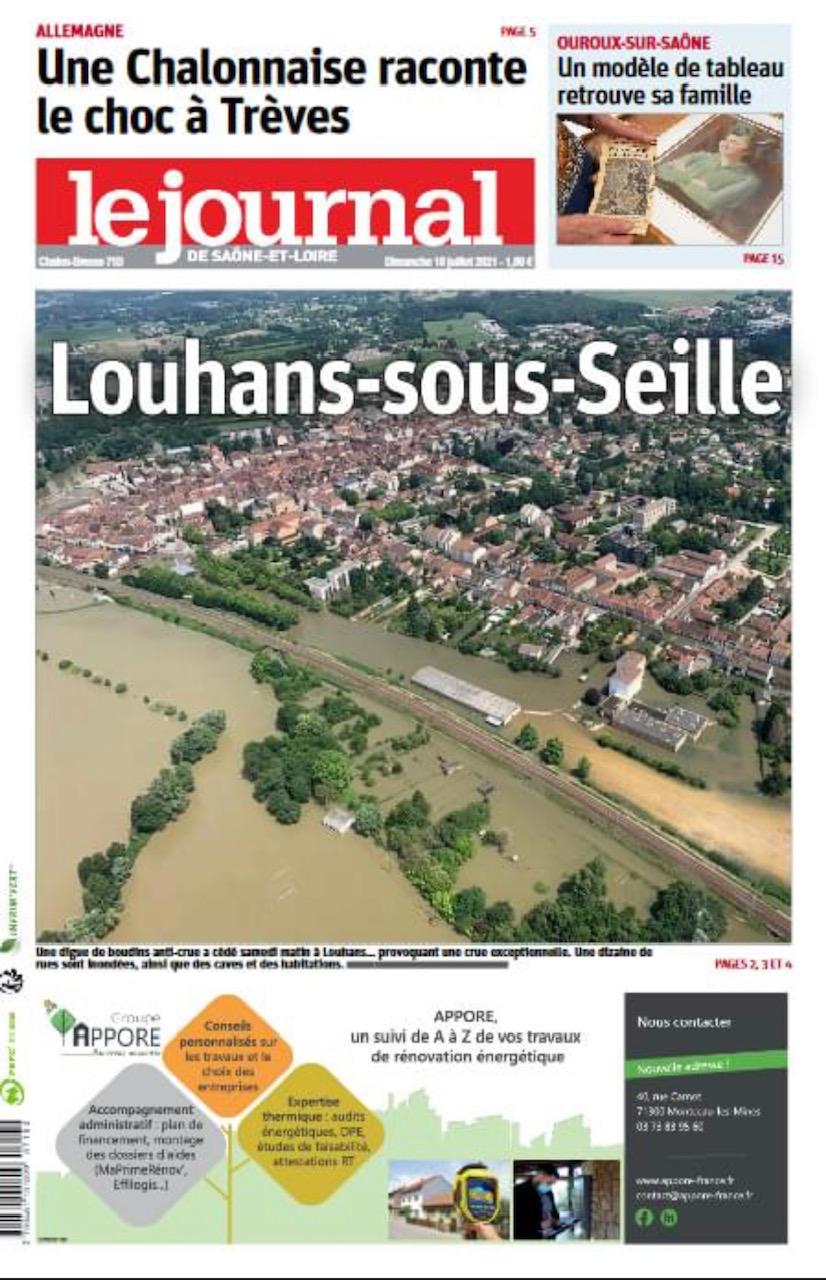 Le Journal de Saône et Loire 2021 07 18
