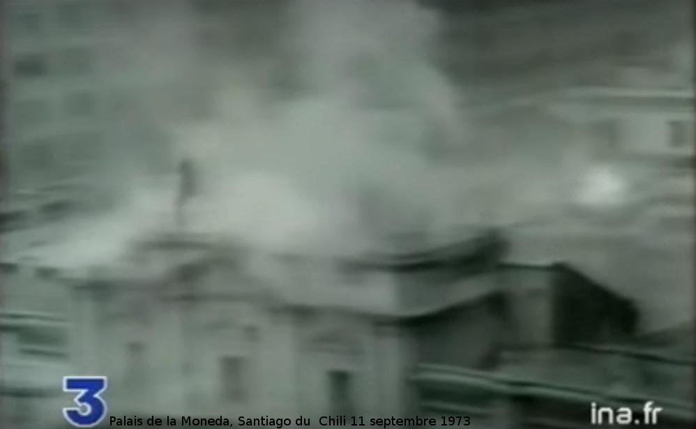 Palais de la Moneda, Santiago du Chili, 11 septembre 1973