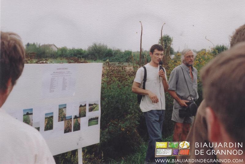 Dominique Berry, technicien tête de réseau bio Rhône-Alpes commente le suivi de nos bandes fleuries sur deux années