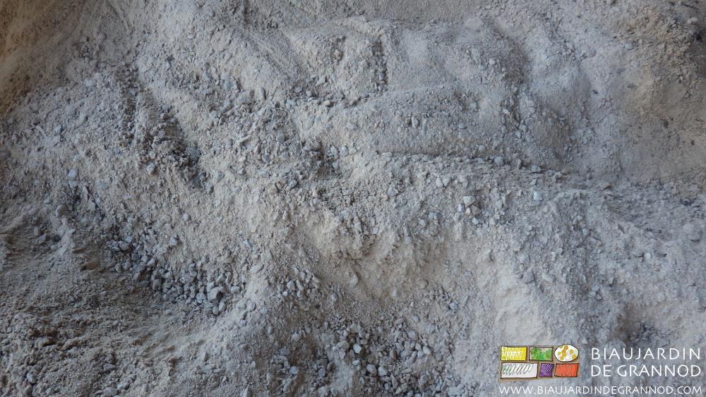 Poudre de roche calcaire 0 / 5 mm