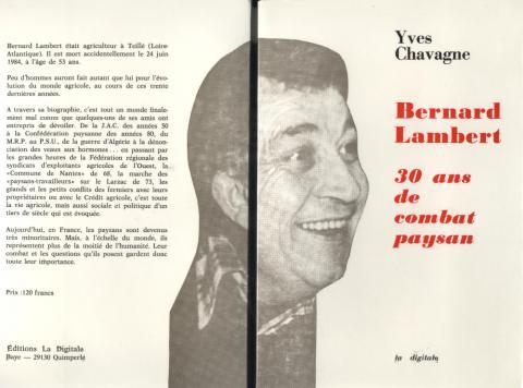 Biographie éditée en 1988