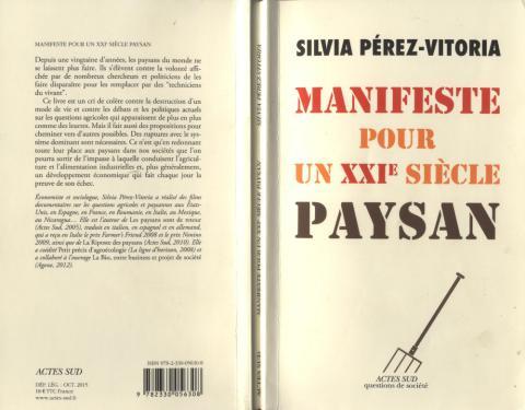 Silvia Perez-Vittoria Éditions Actes Sud 2015