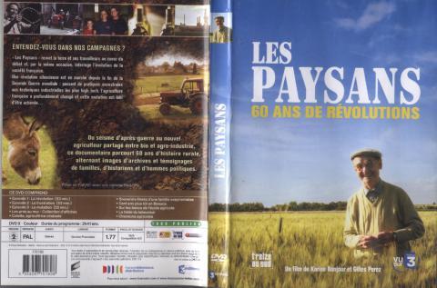 """""""Les paysans 60 ans de révolutions"""" DVD de Karine Bonjour et Gilles Perez."""