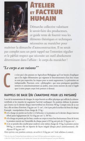 guide de l'auto construction édité par Atelier Paysan