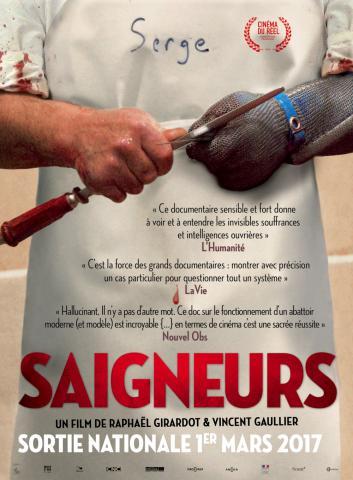 """Saigneurs"" Raphaël Girardot et Vincent Gaullier. 2015"